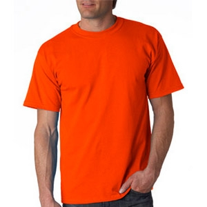 Safety Orange T-Shirt made of Cotton & Polyester
