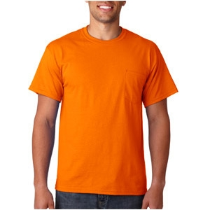 Safety Orange T-Shirt with Pocket - ViewBrite Safety Products